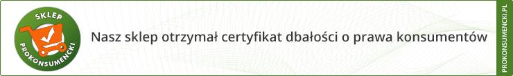 prokonsumencki certyfikat sklepu internetowego dekoori.pl