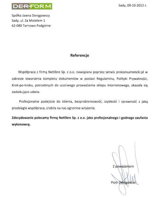 f7171b5d04f968 2012-10-09-Referencje-Derform.JPG ·  oponeo_referencje_szkolenie_prokonsumencki