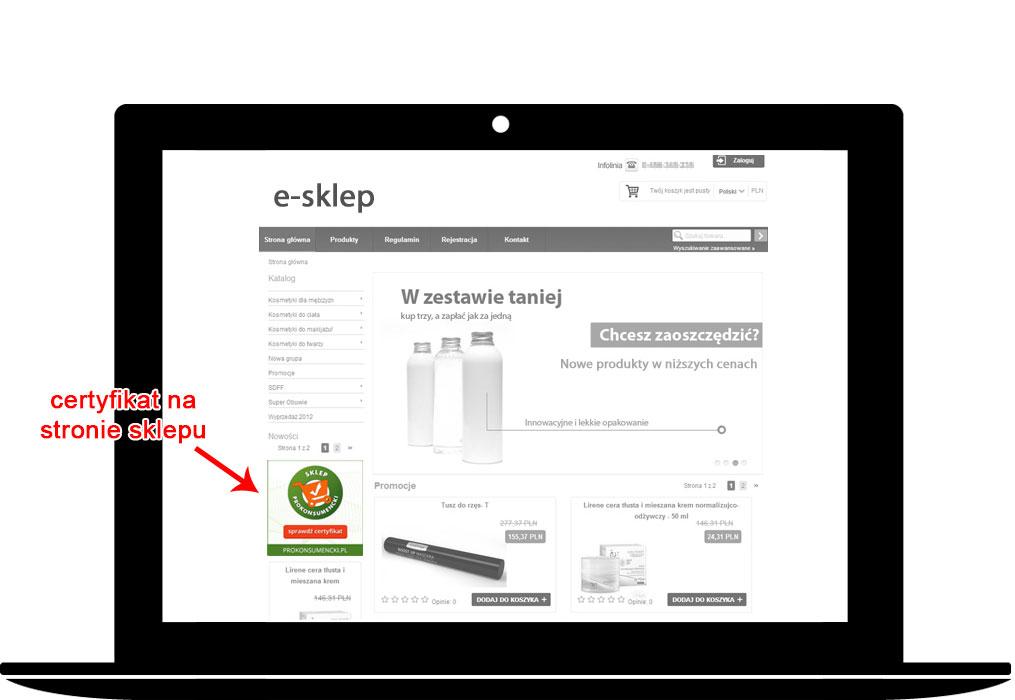 e4e85708 Zgłoś poniżej bezpłatnie i niezobowiązująco swój sklep internetowy do  audytu i certyfikacji!