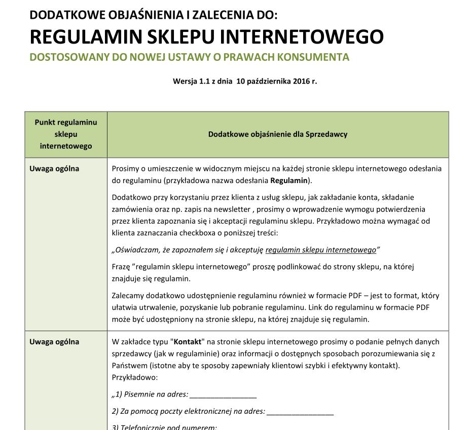 c6cbbbb0d73fc3 Regulamin sklepu internetowego i polityka prywatności zgodne z RODO – wzór