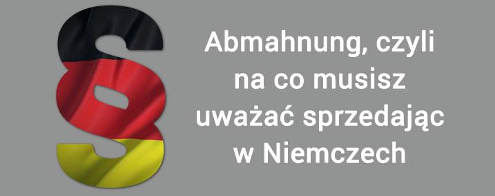 Sklep internetowy w Niemczech – czym jest Abmahnung?