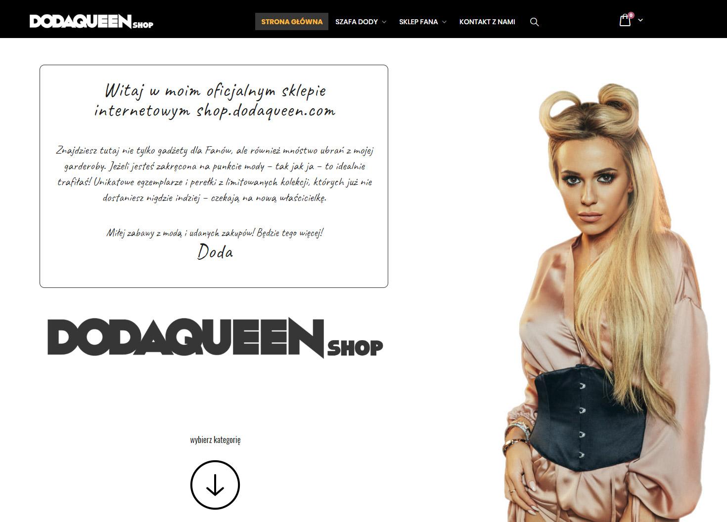 6aa9768fcccea8 sklep-DodaQueen-opinia - Regulamin sklepu internetowego wolny od ...