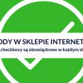 zgody w sklepie internetowym