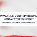kontakt telefoniczny