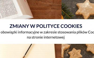 Zmiany w polityce pliki cookies: nowe obowiązki informacyjne