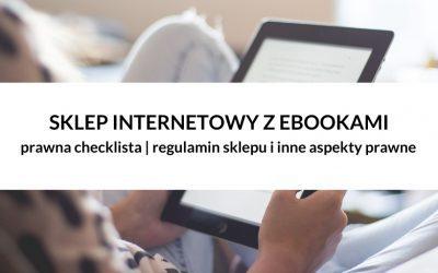 PRAWNA CHECKLISTA | Regulamin sprzedaży ebooków