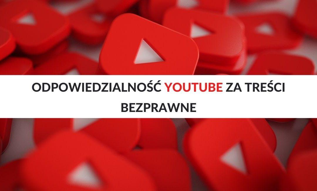 treści bezprawne Youtube