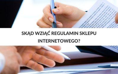 Skąd wziąć regulamin sklepu internetowego?